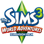 The Sims 3: World Adventures Expansion Pack game logo