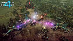 Multiplayer screen from Command &amp; Conquer 4: Tiberian Twilight