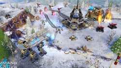 Battle in the snow from Command &amp; Conquer 4: Tiberian Twilight