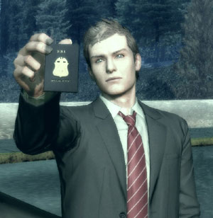 Special Agent Francis York Morgan from Deadly Premonition