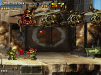 Classic 2D Metal Slug action in Metal Slug XX