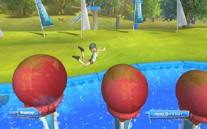 The Big Balls obstacle course from Wipeout: the Game