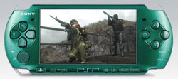 Metal Gear Solid: Peace Walker played a PSP-3000. Both included in the PlayStation Portable 3000 Limited Edition Metal Gear Solid: Peace Walker Entertainment Pack