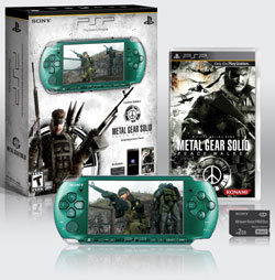 Contents of the PSP-3000 Limited Edition Metal Gear Solid: Peace Walker Entertainment Pack