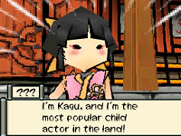 In-game partner Kagu from Ōkamiden