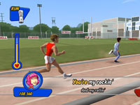Running mini-game from Grease for Wii