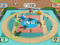 Mini-game gameplay from Wii Party