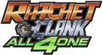 Ratchet & Clank: All 4 One game logo