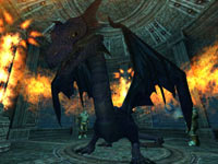 Dragon mount from the EverQuest II: Destiny of Velious All-in-One Compilation Pack