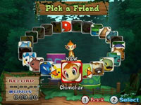 Selecting a friended Pokémon to play as in PokéPark Wii: Pikachu's Adventure