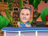 Host Pat Sajak from Wheel of Fortune for Wii