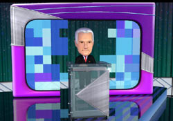 Host Alex Trebek from Jeopardy! for Wii