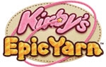 Kirby's Epic Yarn game logo