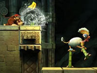 Blowing functionality unleashed via Wii Remote in Donkey Kong Country Returns