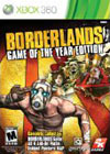 Borderlands Game of the Year box for Xbox 360