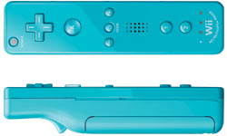 Game, Games, Video Game, Video Games, Nintendo, Pink, Black, Blue, White, Wii Remote Controller