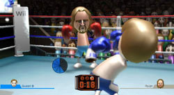 Boxing game from Wii Sports