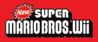 New Super Mario Bros. Wii game logo