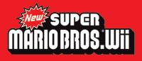 New Super Mario Bros. Wii game logo