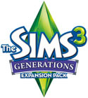 The Sims 3: Generations Expansion Pack logo
