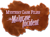 Mystery Case Files: The Malgrave Incident game logo