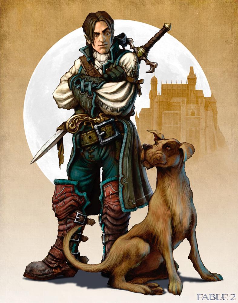 Если бы Мулинье сделал новый Fable, там бы обязательно была собака. 354608