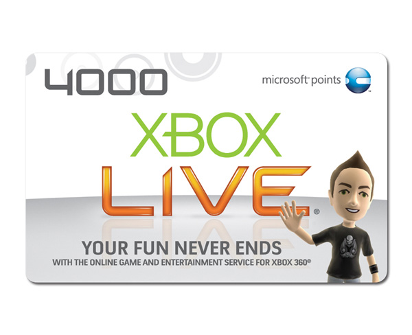 microsoft xbox points