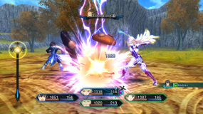Lightning Attack in Tales of Xillia