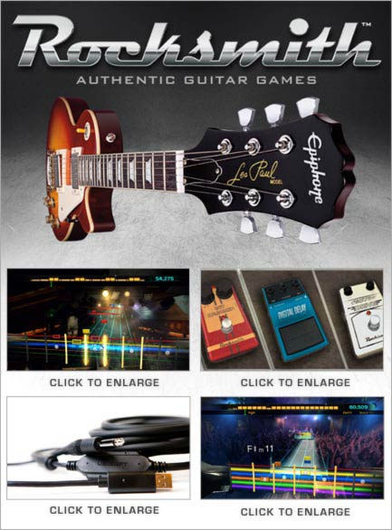 Rocksmith Guitar Game Reviews
