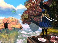 Platforming gameplay from Alice: Madness Returns