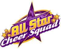 'All Star Cheer Squad' for Wii game logo