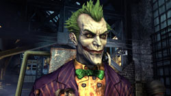 The Joker in 'Batman: Arkham Asylum'