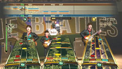 'Rock Band' style play across all eras of The Beatles' career in 'The Beatles: Rock Band'