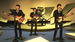 The Ed Sullivan Show gameplay venue from 'The Beatles: Rock Band'