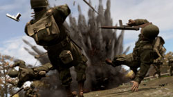 Large-scale battles in 'Brothers in Arms: Hell's Highway'