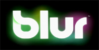 'Blur' game logo