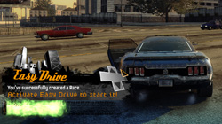 Start a race anytime with ''Easy Drive.''