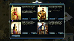 In-game advice council from Sid Meier''s Civilization V