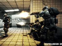 Concentrating fire on enemies encountered in the subway in Crysis 2