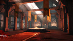 New game enviroment Virgil's Keep from Dragon Age: Origins - Awakening