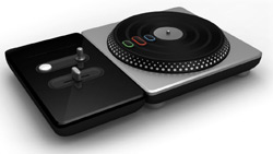 Turntable controller for 'DJ Hero'
