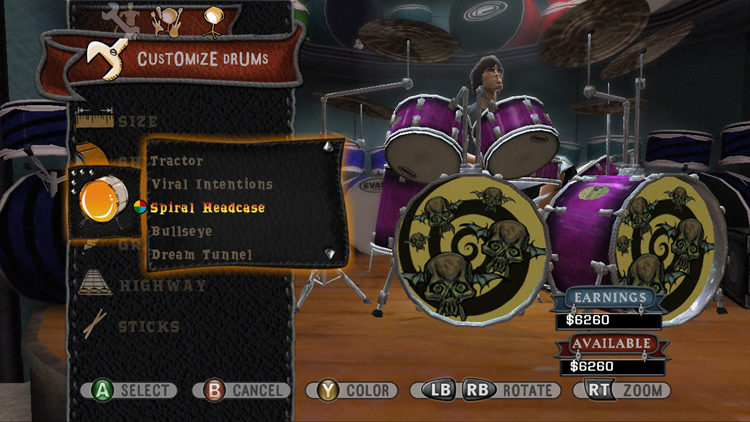 Drum Customization