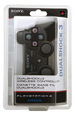 Dualshock 3 wireless controller in package