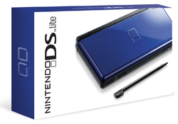 Nintendo DS Cobalt/Black in box