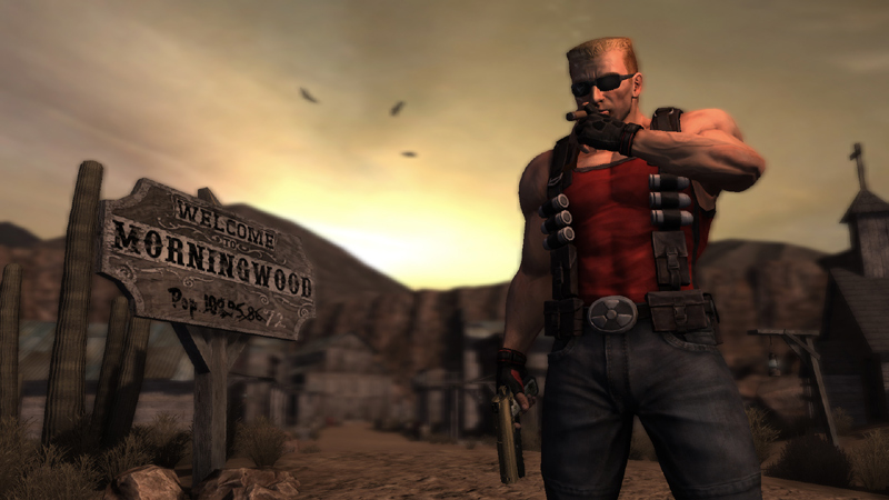 Duke Nukem returns to kick alien butt, indulge in his infamous vices