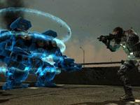 Mech combat in F.E.A.R. 3