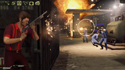 Multiplayer action online in 'The Godfather II'