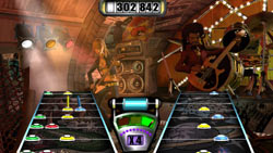 Multiplayer action in Guitar Hero II