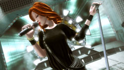 Rocker Shirley Manson from 'Guitar Hero 5'