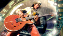 Carlos Santana from 'Guitar Hero 5'